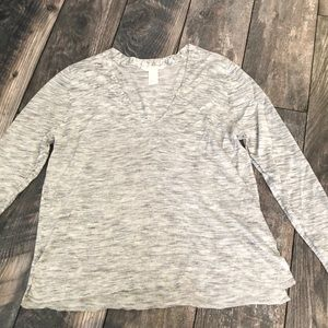H & M grey v neck sweater!